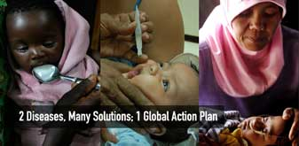 Childhood Pneumonia and Diarrhoea - 2 Diseases, Many Solutions; 1 Global Action Plan