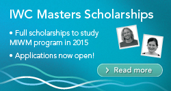 IWC Masters Scholarships - Integrated Water Management