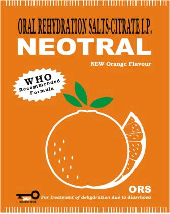 NEOTRAL - Orange Flavoured ORS